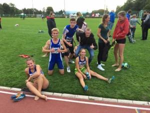 Das Mixed-U18-Team nach dem abschliessenden 1000-Meter-Lauf.